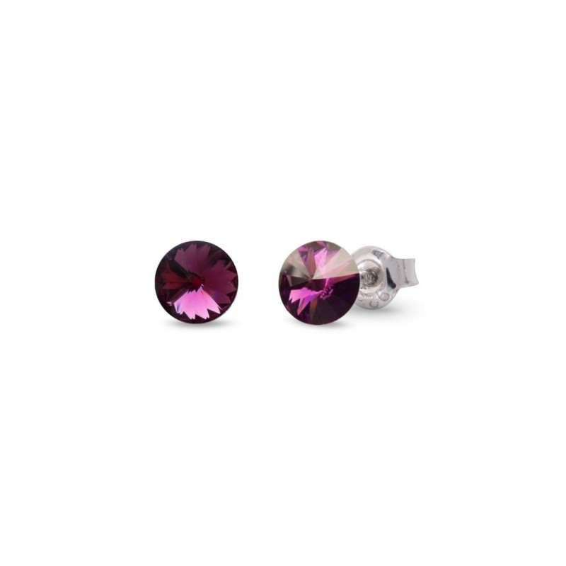 Candy Studs Small Amethyst.