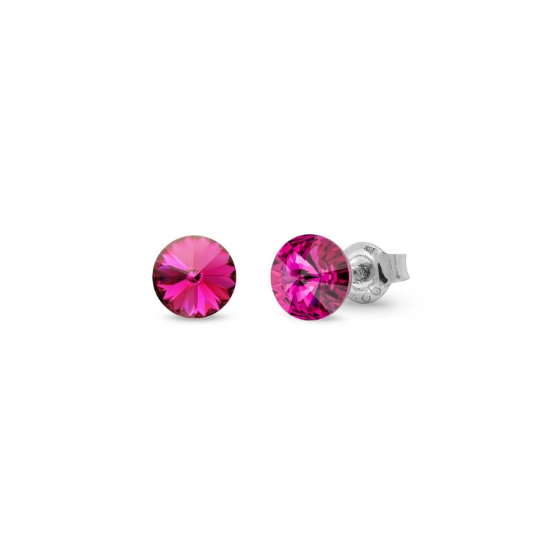 Candy Studs Small Fuchsia