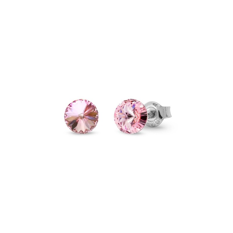 Candy Studs Small Light Rose.