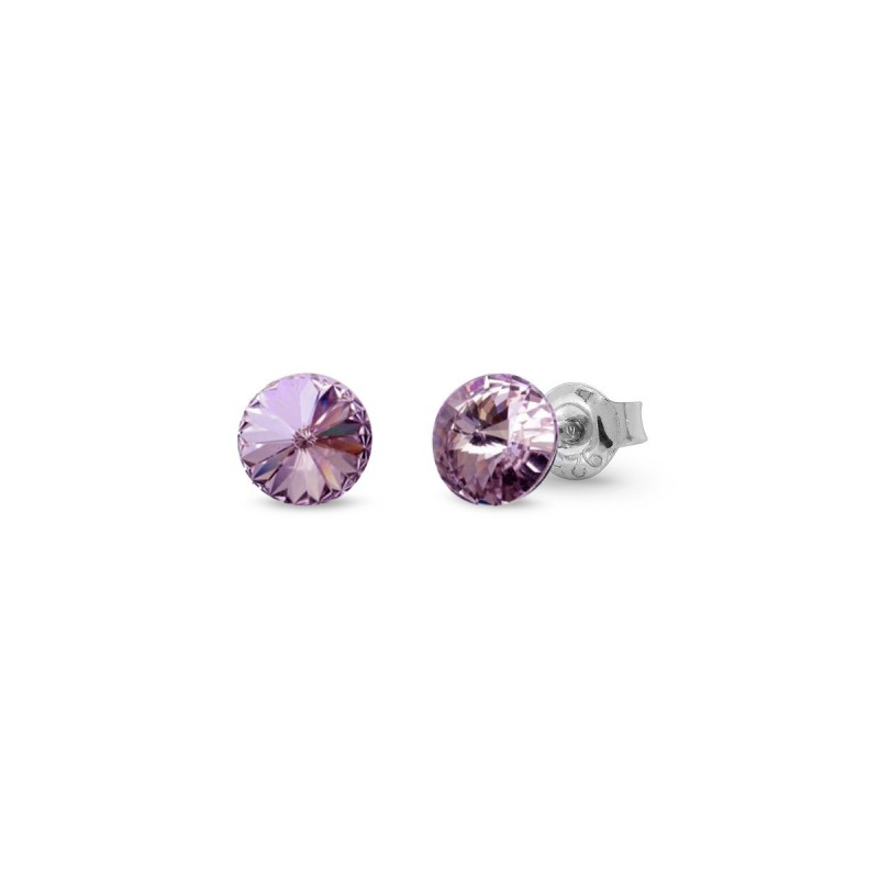 Candy Studs Small Violet.