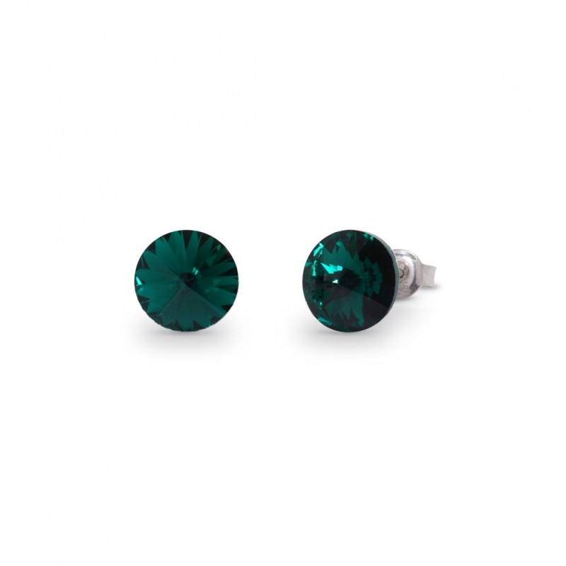 Sweet Candy Studs  Emerald.