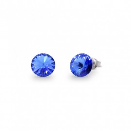 Sweet Candy Studs  Sapphire.