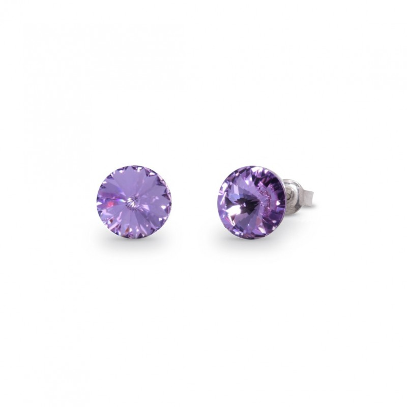 Sweet Candy Studs  Violet.
