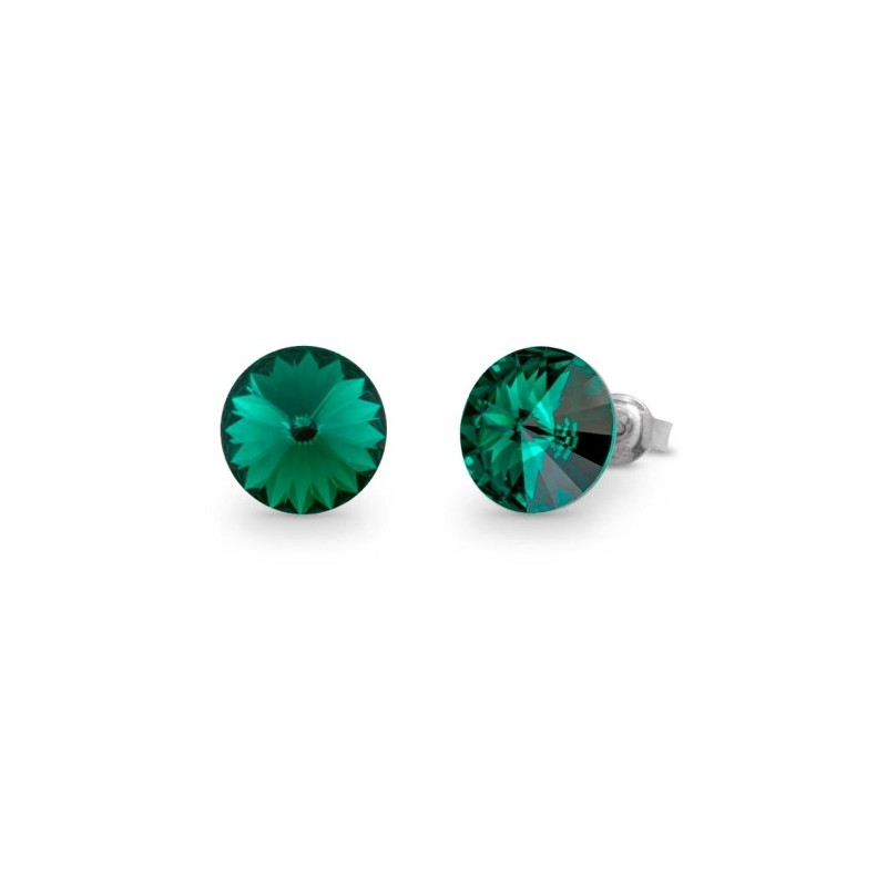 Candy Studs  Emerald
