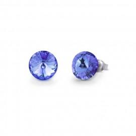 Candy Studs  Light Sapphire