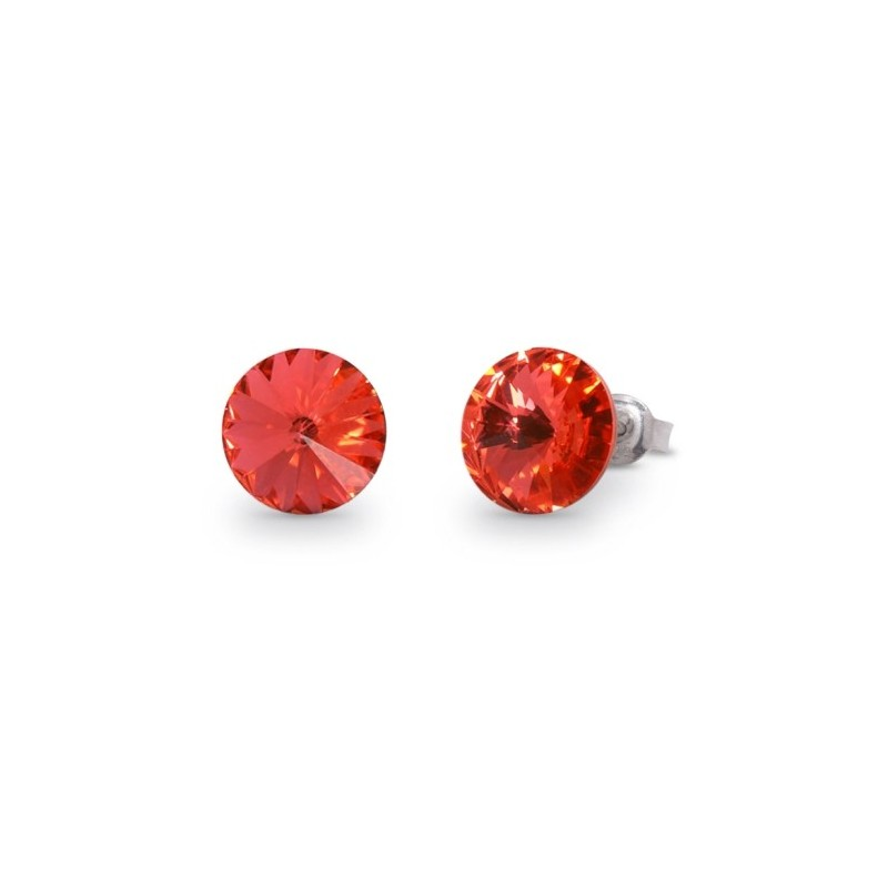 Candy Studs  Padparadscha