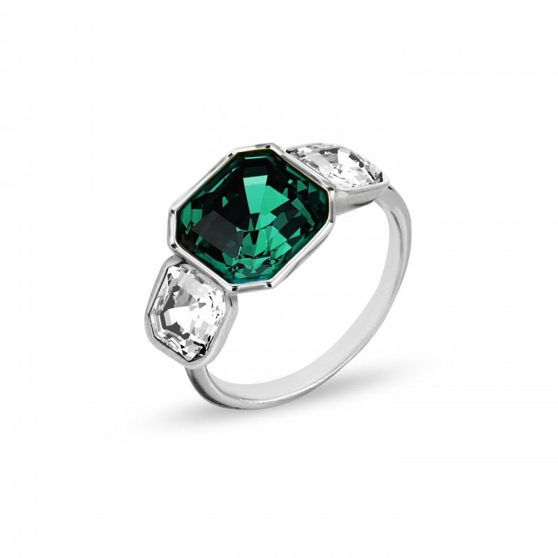 Imperial Trio  Crystal Emerald