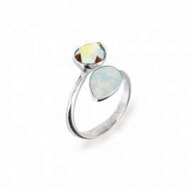 Siena Aurore Boreale e White Opal.