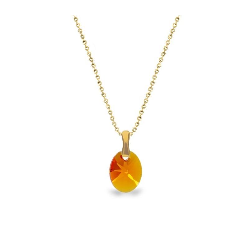 Ribes Collana Oval  Tangerine