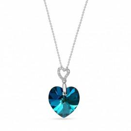 Heart Bermuda Blue.