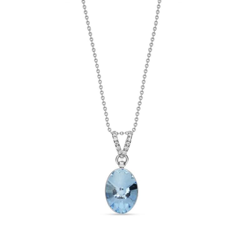 Oval Chic Aquamarine