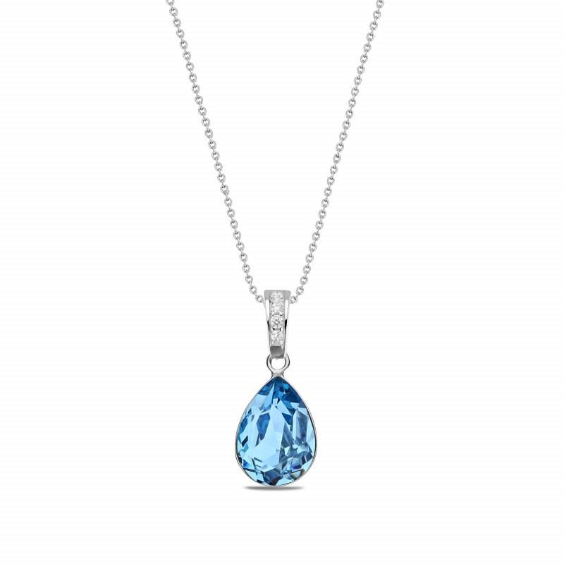 Classy Pear Aquamarine