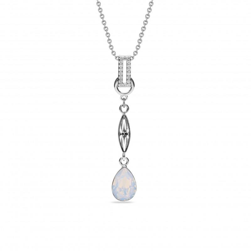 Ice White Opal e Crystal.