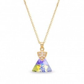 Trianglo Aurora Borealis Gold
