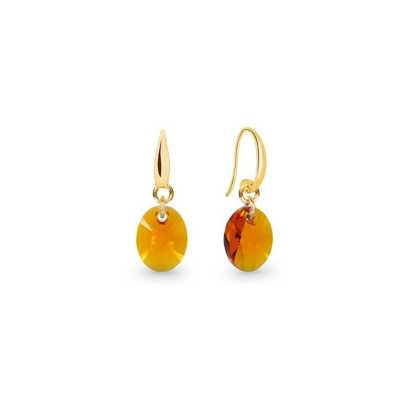 Ribes Orecchino Oval  Tangerine