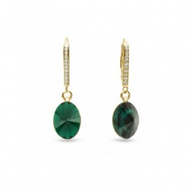 Oval Chic Emerald